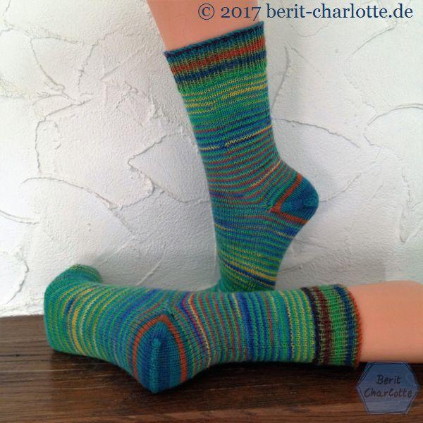 Fertige Socken - Ringel Ringel Reihe