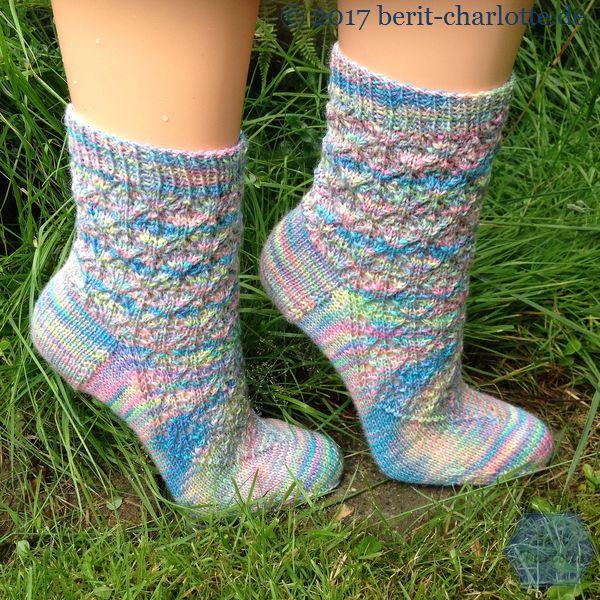 meine Socken vom letzten Jahr - Walking in Massachussetts