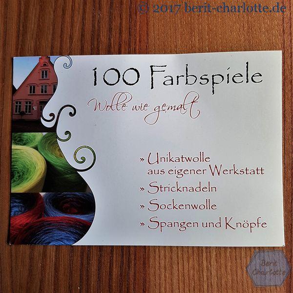100 Farbspiele - Wolle wie gemalt