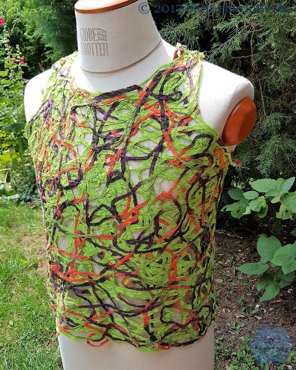 Shirt in Herbstfarben