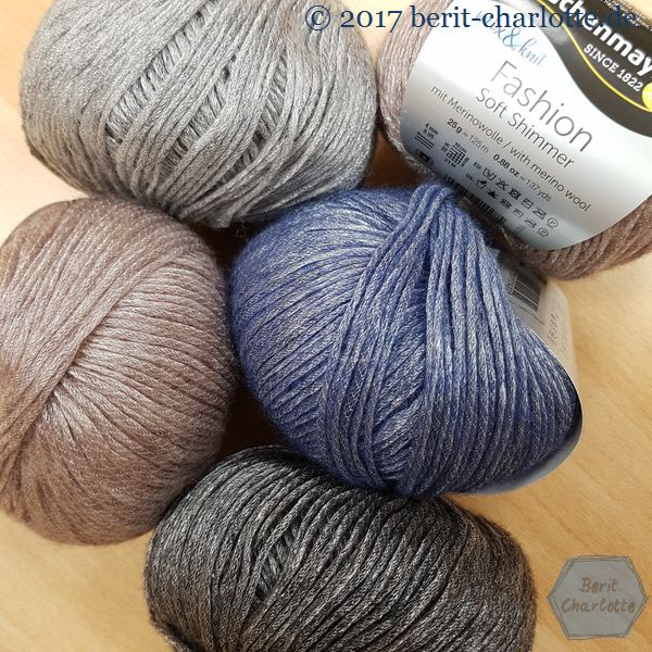 mix and knit Fashion Soft Shimmer
