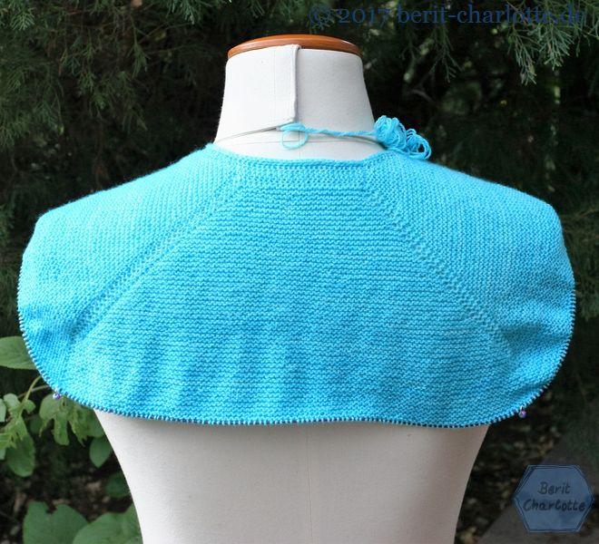 Mein erstes Tuch aus Drachenwolle.