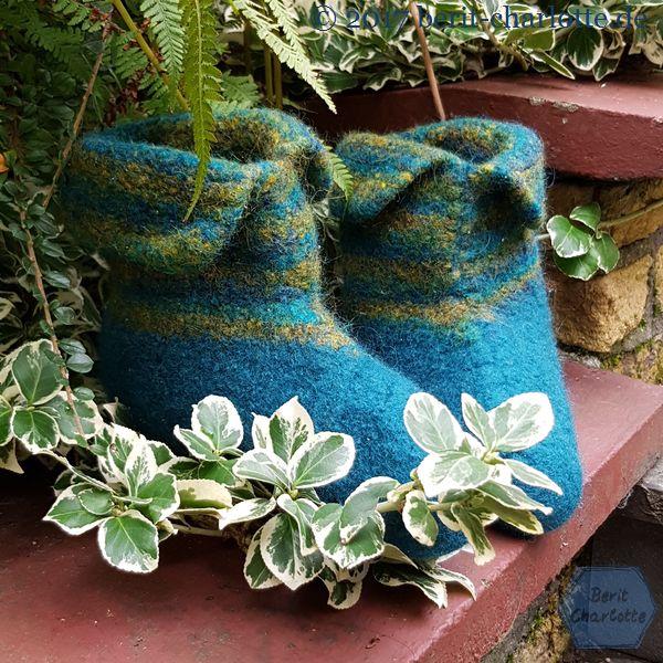 Filzpuschen für alle, die nicht nur im Westerwald kalte Füße haben