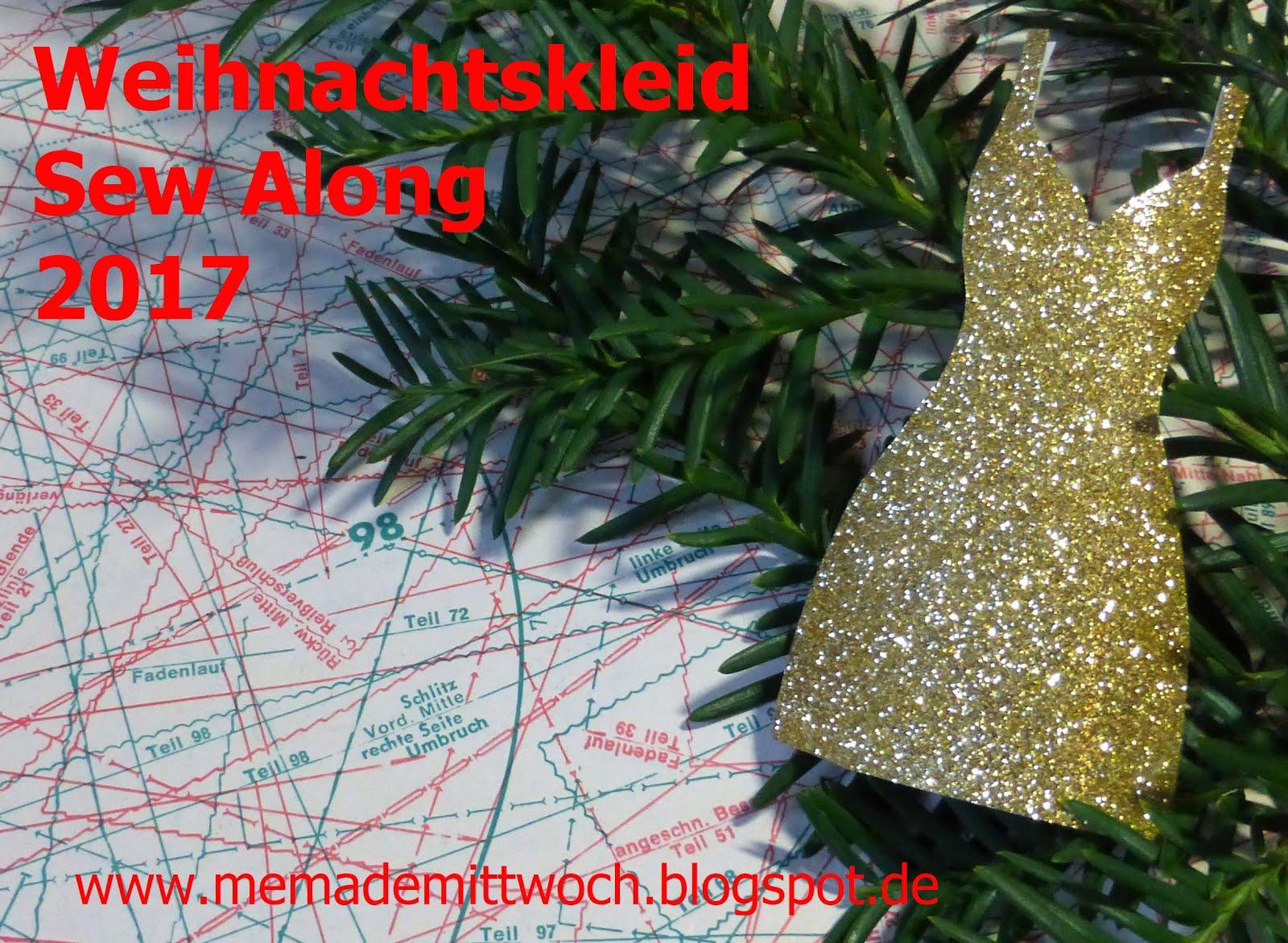 Weihnachtskleid Sew Along 2017 Quelle: www.memademittwoch.blogspot.de