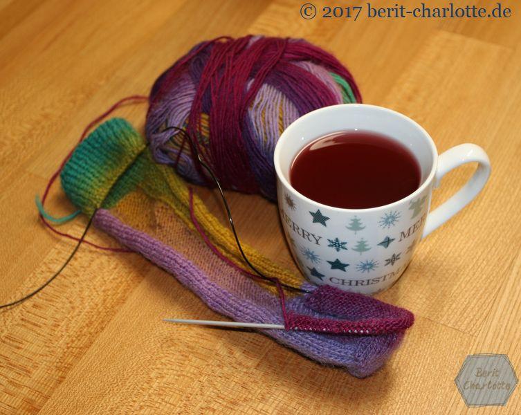 meine Tee-Strick-Pause