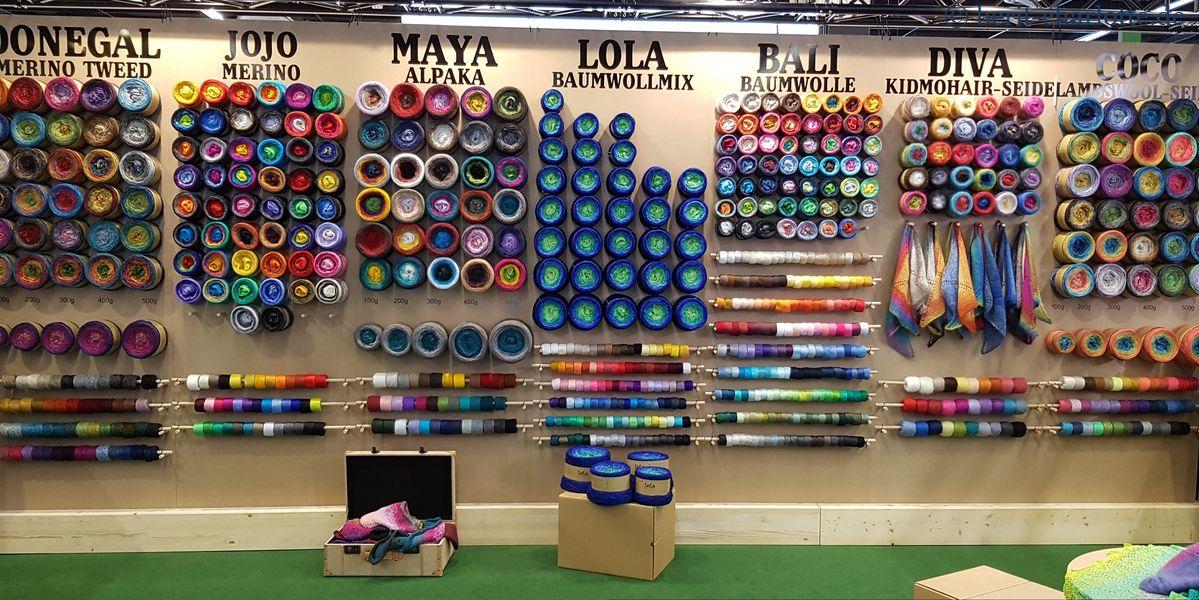 Farbverlaufsgarne der Garnmanufaktur