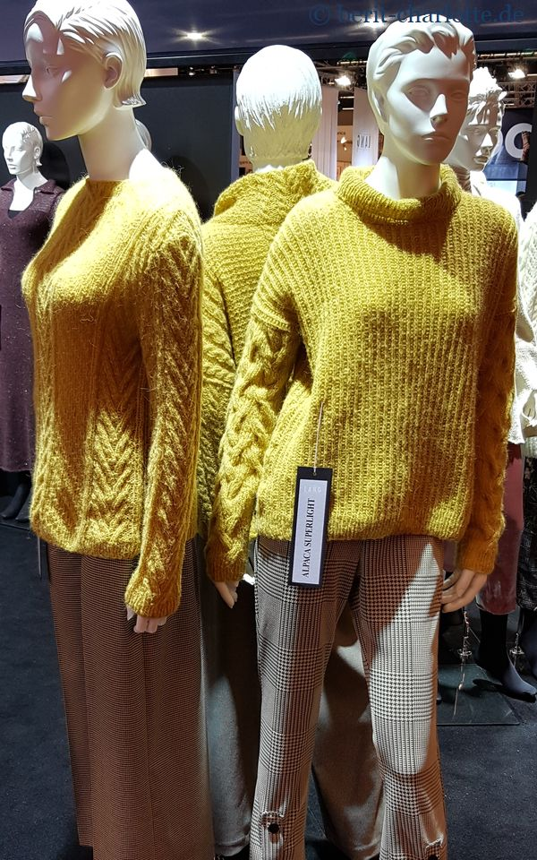 Modelle von Lang Yarns