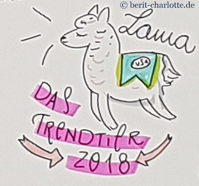 Lama - das Trendtier 2018