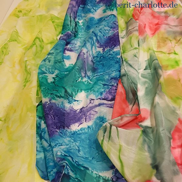Detailfoto von Karins Tüchern