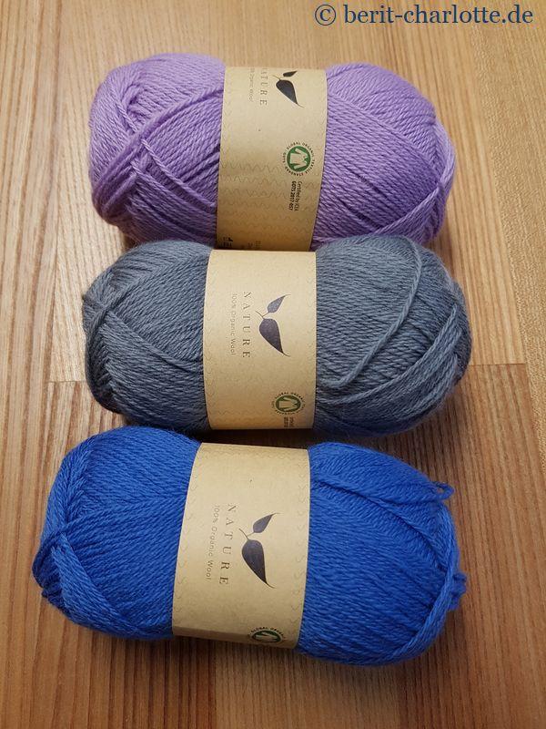 Nature - 100% Wolle, 230 m Lauflänge, Nadelstärke 3 mm - von Hobbii