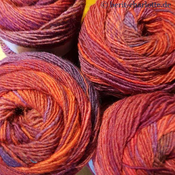 Wolle für die Strickjacke - Tosca Light von Lang Yarns