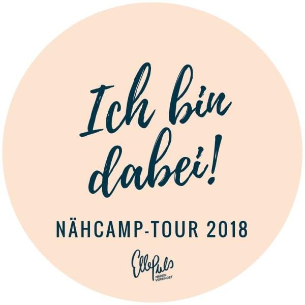 Ja, ich bin dabei! Im Nähcamp in Dortmund im Juni.