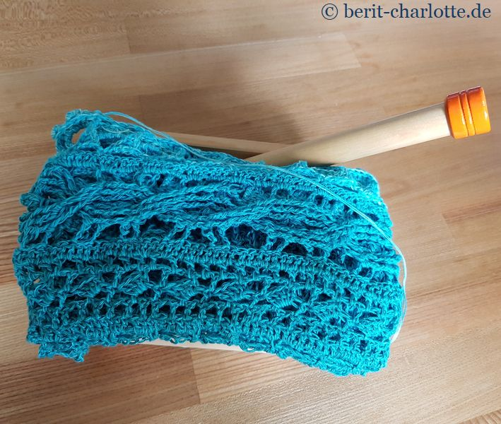 Auf zu Teil 7 - für den Broomstick brauche ich diese Stricknadel.