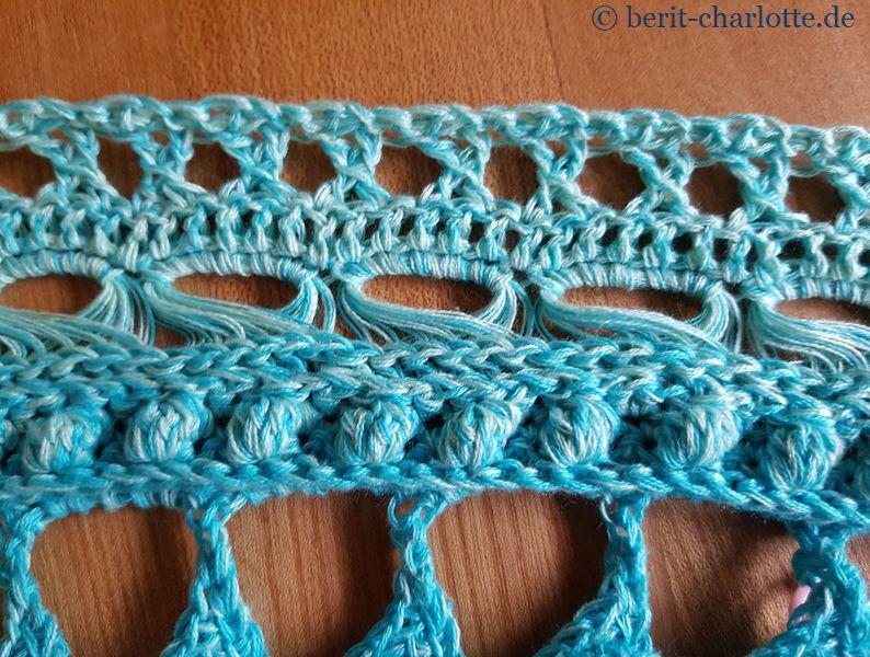 Teil 7 mit dem fertigen Broomstick-Lace