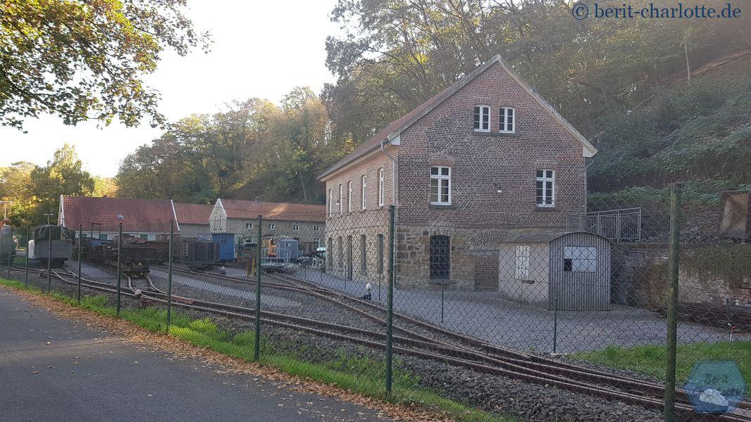 Die Zeche Theresia hat heute leider geschlossen. Dort ist ein Gruben- und Feldbahnmuseum untergebracht.