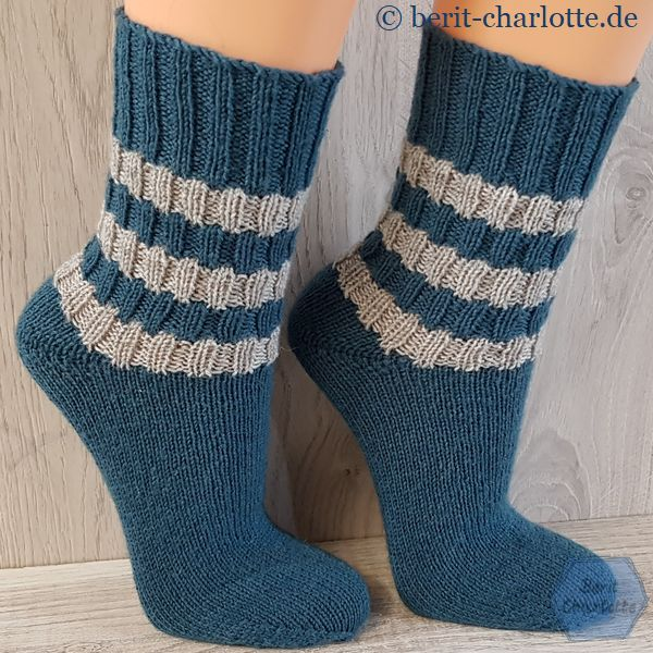 Variation Nr. 3 - Muster mit glattem Fuß
