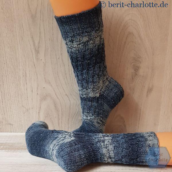 Variation Nr. 1 - die Ursprungs-Socken