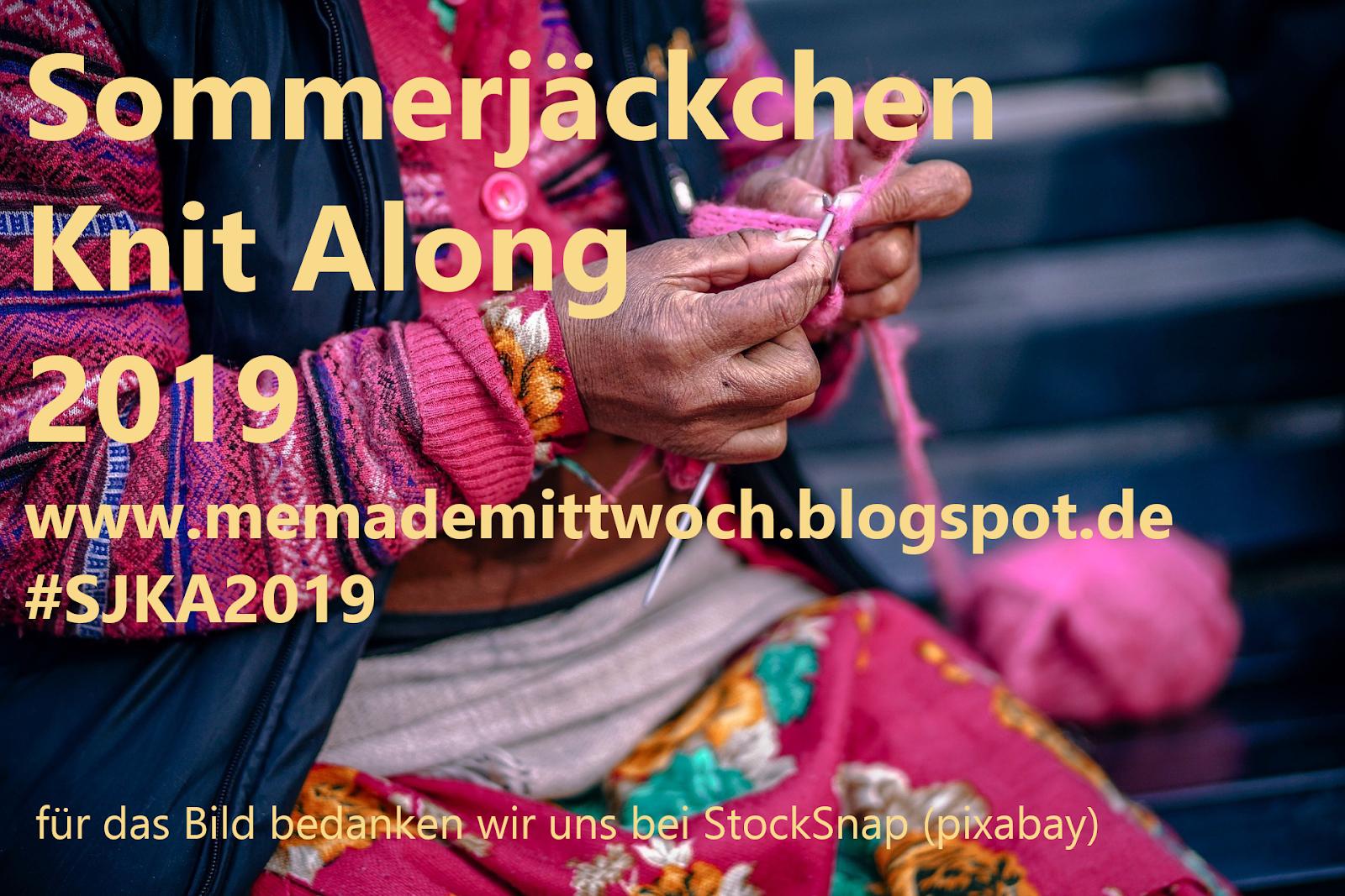Sommerjäckchen Knit Along 2019 - da mache ich mit
