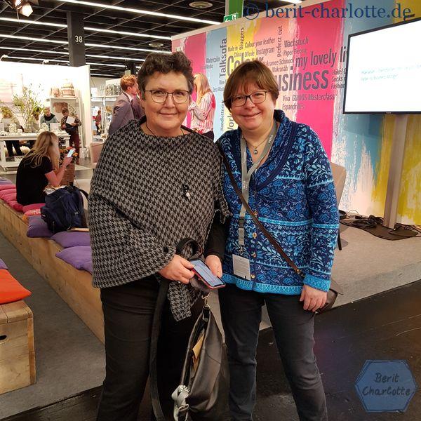 Barbara von Sockshype und ich