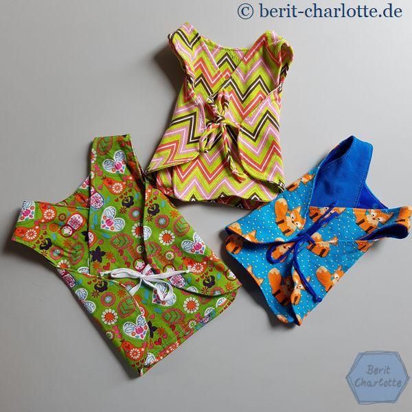 Viele hübsche Kleidungsstücke sind an dem Tag entstanden oder wurden von den Damen bereits fertig genäht mitgebracht.