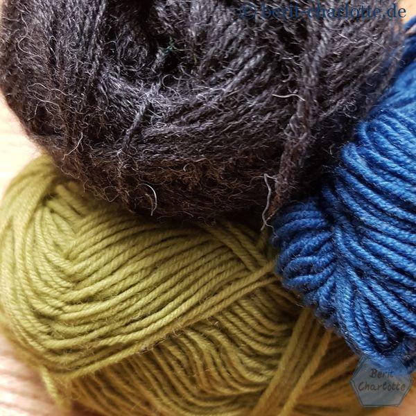 Einfach nur langweilig - so wirkte diese Farbzusammenstellung bei den Socken.