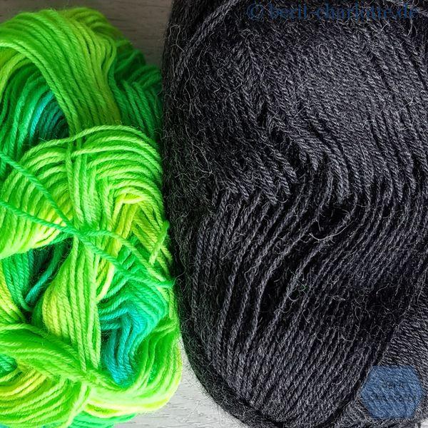 Diese Farb-Kombination bringt mehr Schwung in die Socken.